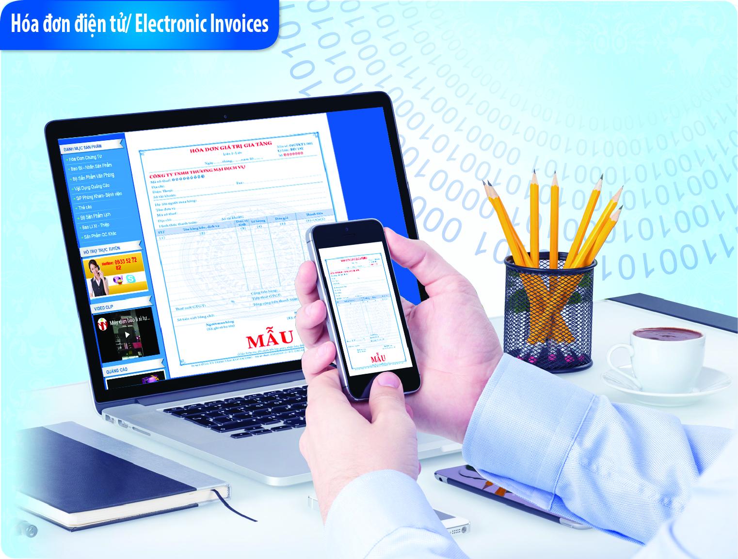 Cung cấp dịch vụ hóa đơn điện tử