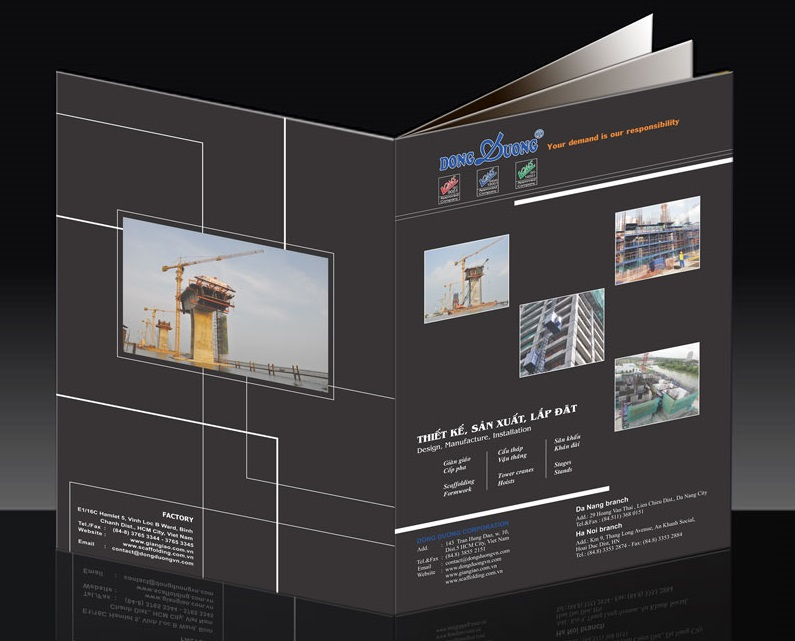 Nguyên tắc thiết kế catalogue đẹp