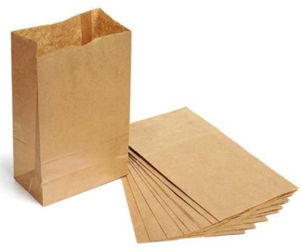 Giấy Kraft được sử dụng làm túi giấy tạp phẩm