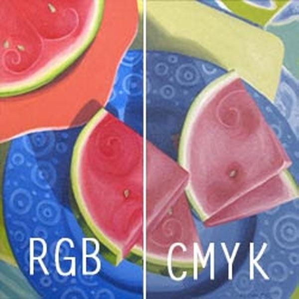 Sự khác nhau giữa hệ màu in ấn RGB và CMYK
