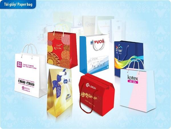 Các loại túi giấy