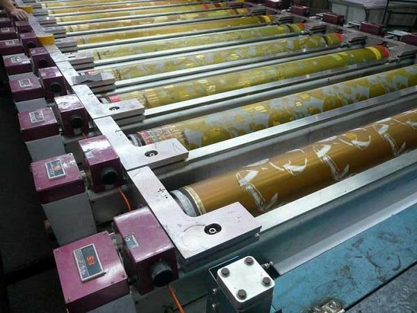 Công nghệ in ống đồng được ứng dụng trong ngành bao bì màng nhựa