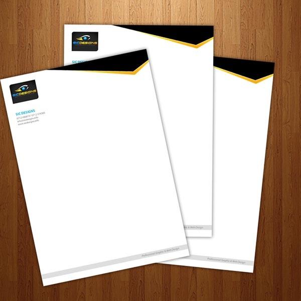 Cần lựa chọn giấy tiêu đề thư chất lượng