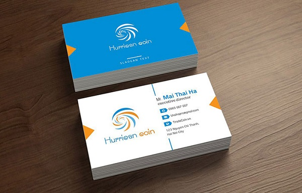 Name Card thiết kế đẹp tăng độ nhận diện thương hiệu