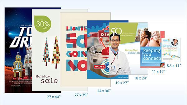Các kích thước thiết kế poster tiêu chuẩn